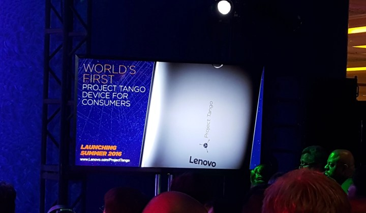 Lenovo will sell the first Project Tango consumer smartphone