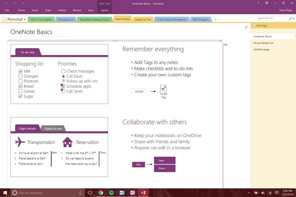 14 Microsoft OneNote Tips & Tricks Onenote