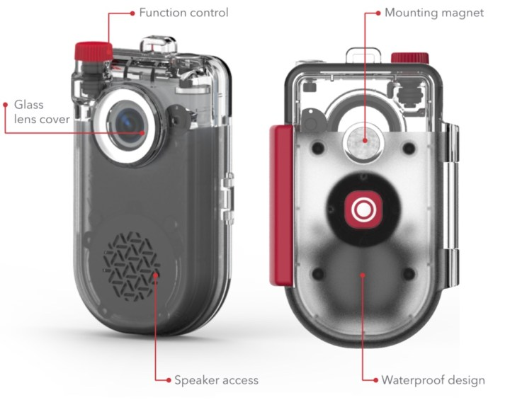 ZAGG NOW CAM Waterproof case