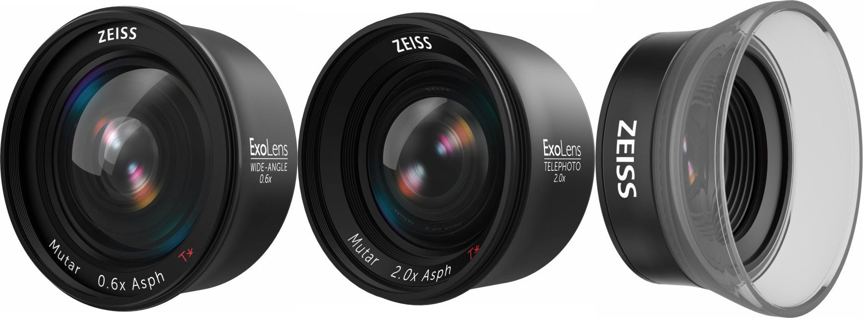 Exolens Puts Zeiss Lenses on Your iPhone Camera