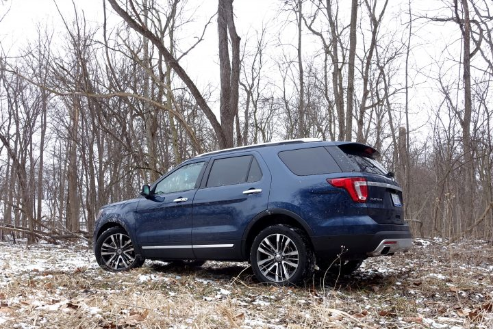 2016 Ford Explorer Platinum Review - 20
