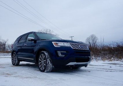 2016 Ford Explorer Platinum Review - 39