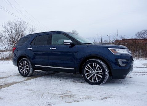 2016 Ford Explorer Platinum Review - 40