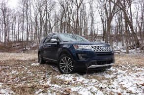 2016 Ford Explorer Platinum Review - 44