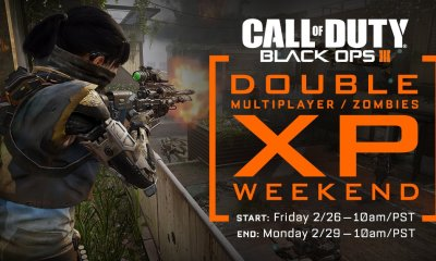 What you need to know about the last February Black Ops 3 Double XP weekend.