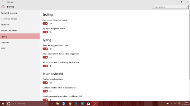How to turn off spell check in Windows 10 (5)