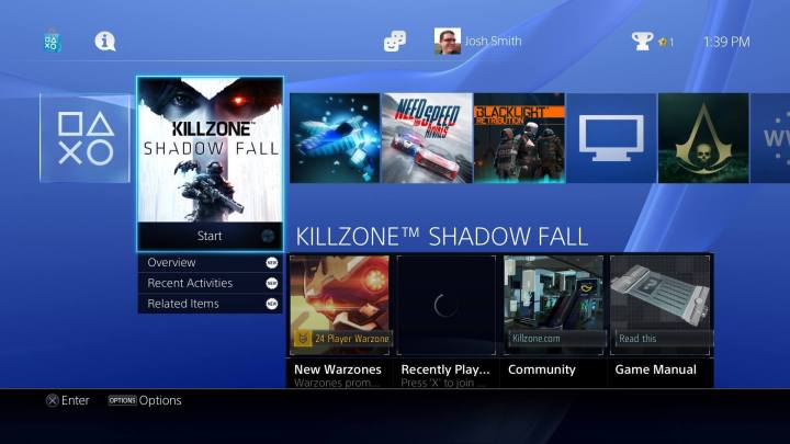PS4 Features 2016 - PS4 Update 3.5 - 1