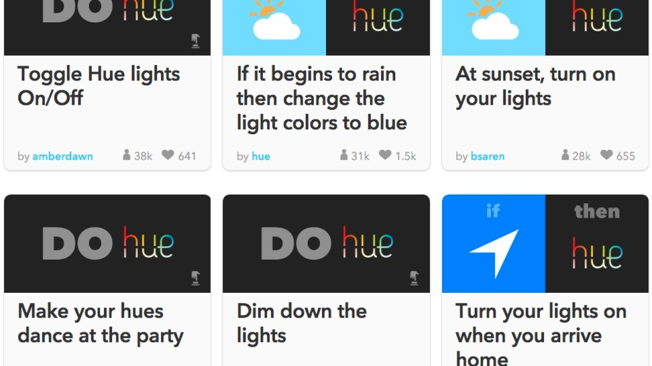 How to Use Philips Hue Lights with IFTTT