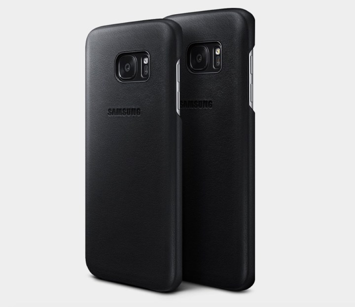 Galaxy S7 Leather Cover Case