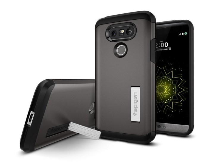 Spigen Tough Armor LG G5 Kickstand Case