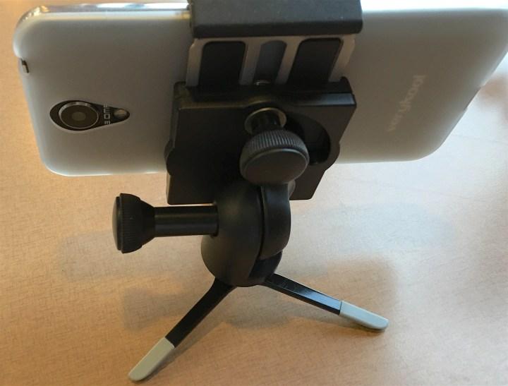 joby griptight pro mount on micro tripod
