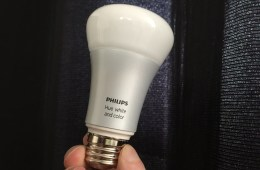 Aristotle can control Philips Hue lightbulbs.