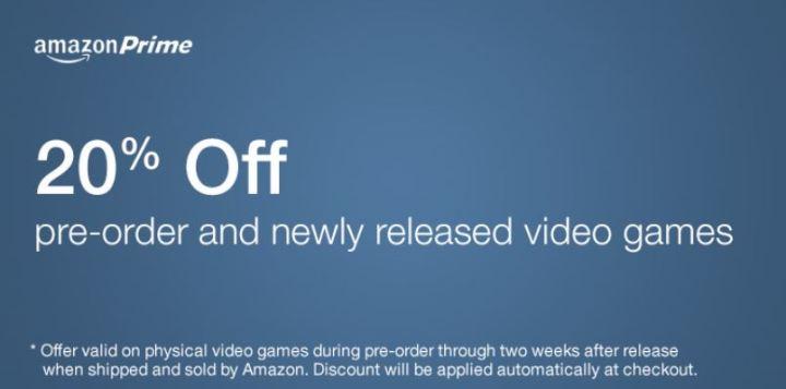 Amazon Prime Game Deals