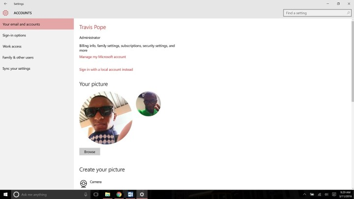 How to Change a Microsoft Account Picture (7)