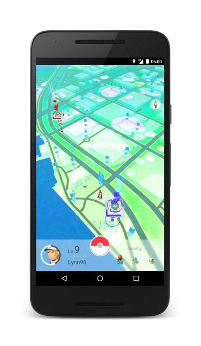Pokémon Go device 1
