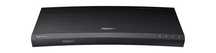 Samsung's first 4K Ultra HD Blu-ray player, the UBD-K8500.