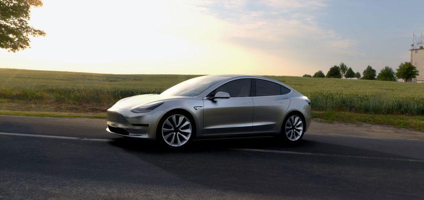Tesla Model 3 Detials - 2