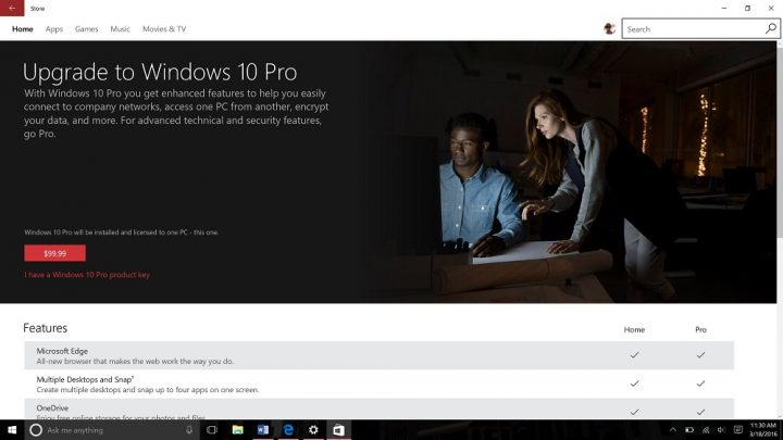 Upgrade from Windows 10 Home to Windows 10 Pro (6)