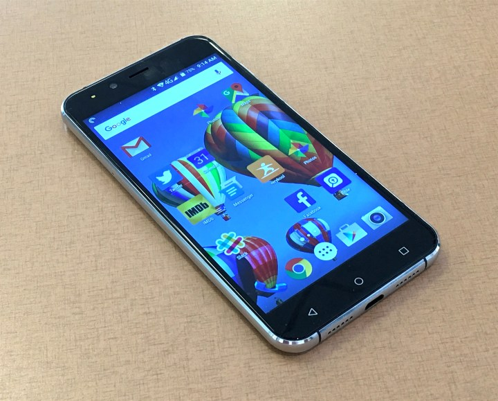 verykool spark lte front
