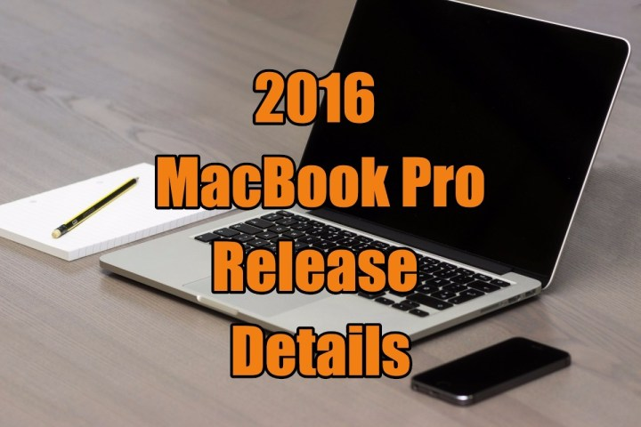 What buyers can expect from the 2016 MacBook Pro release, specs and features.