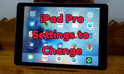 Here are the iPad Pro settings you need to change right away.