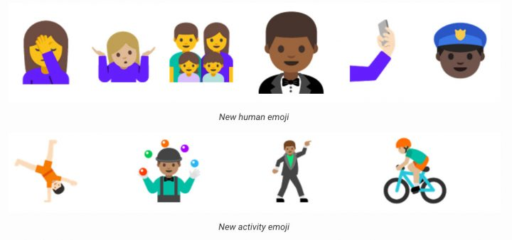 """Android N will have """"human-looking"""" emoji characters"""