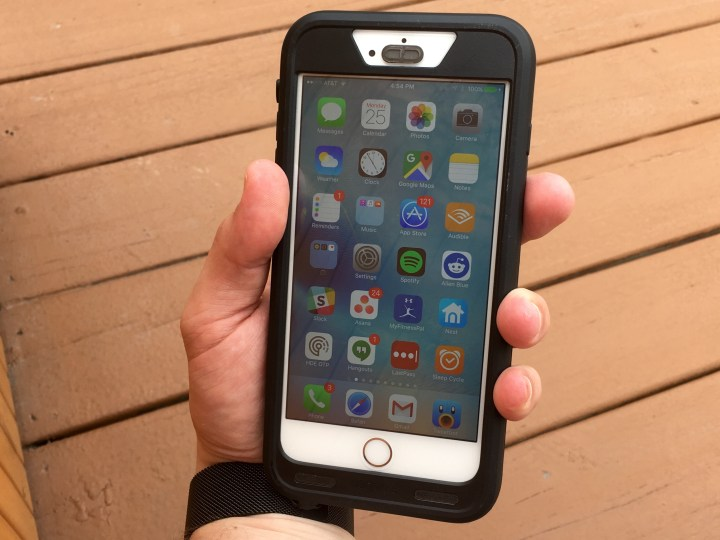 This case adds bulk, but we can still put it in a pocket and use the phone in the case.
