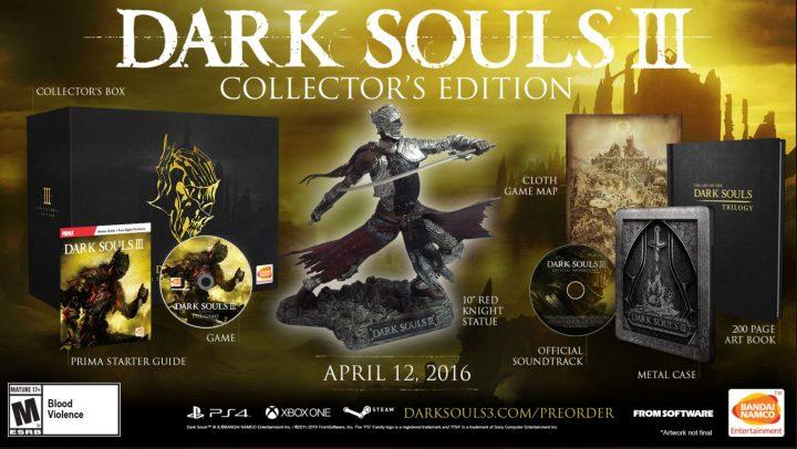 dark souls 3 collector's edition