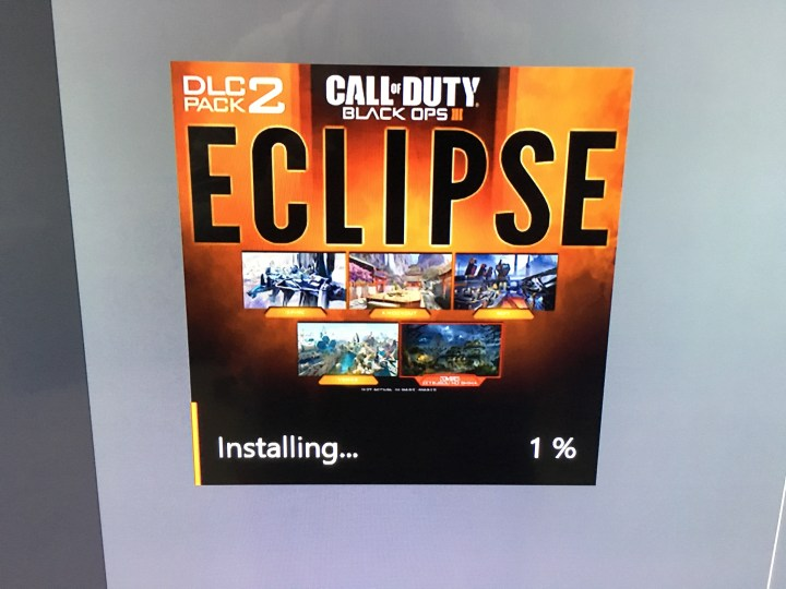 You can now install the Eclipse DLC on Xbox One, but not on PC yet.