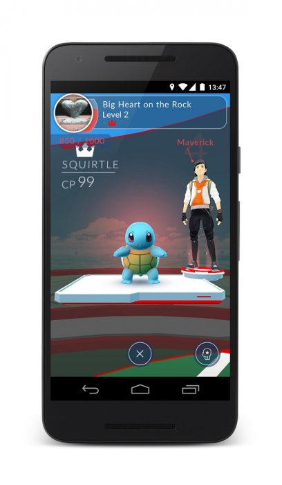 Pokemon Go Battle Images (1)