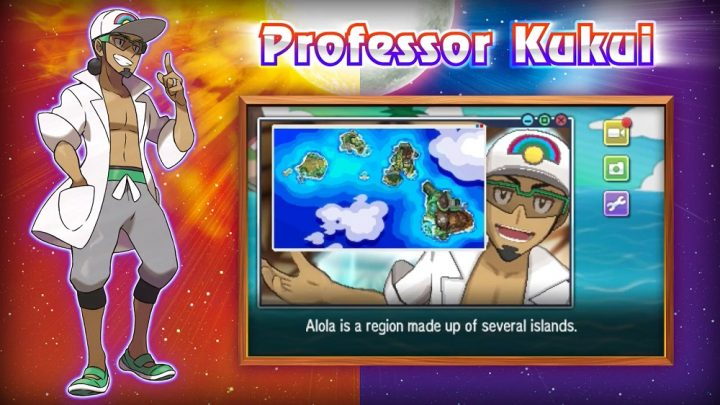 Meet Professor Kukui and Lillie