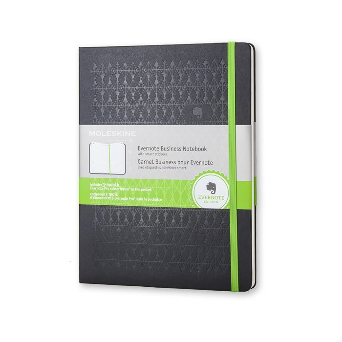 evernote business notebook with smart stickers