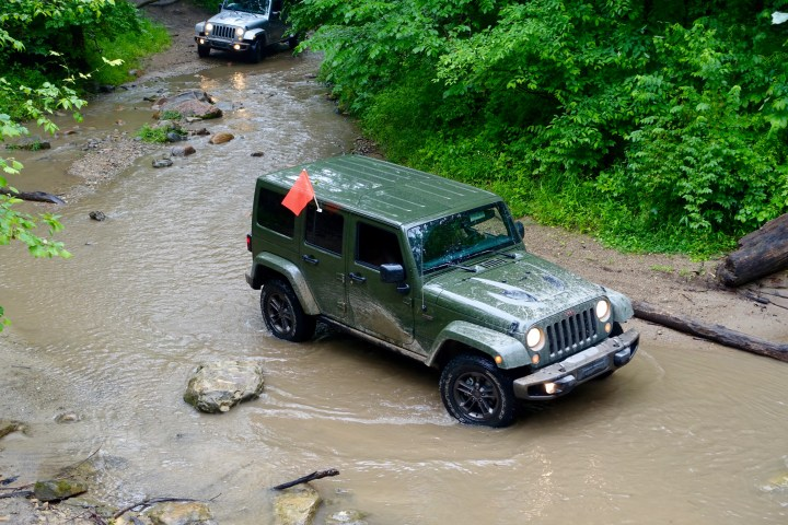 The 2016 Jeep Wrangler is ready to go wherever you are.