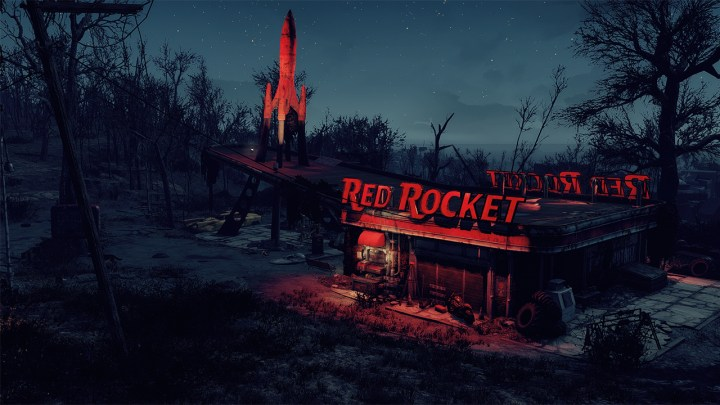 Rockin' Red Rocket