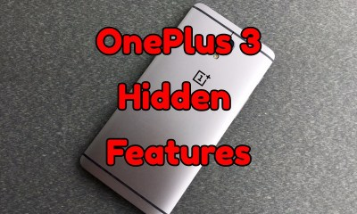 The hidden OnePlus 3 features you need to know about.