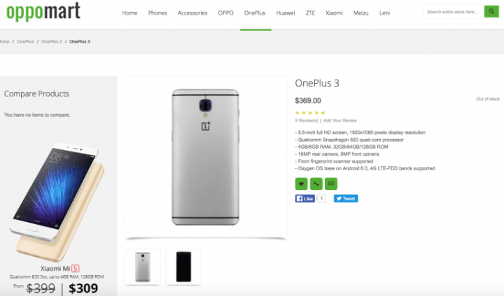 OnePlus3-oppo