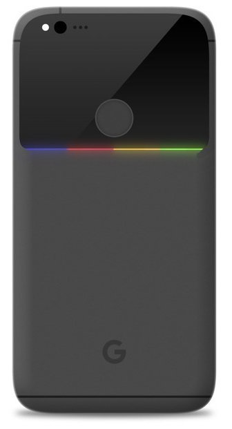 Fan-made render of the Google Pixel Phone (Nexus)