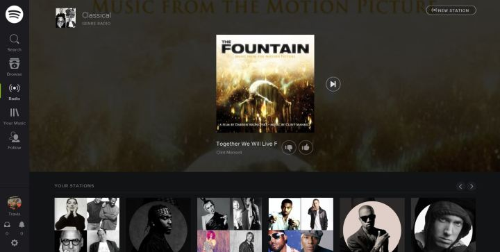 Spotify for the Web