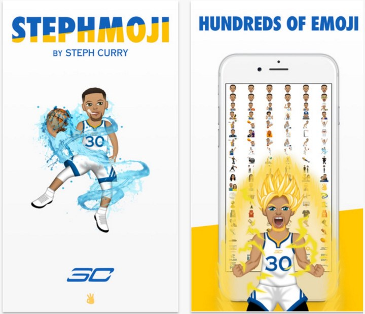 Get access to hundreds of Steph Curry emojis.