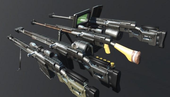 Modular Simonov PTRS-41 Anti-Tank Rifle