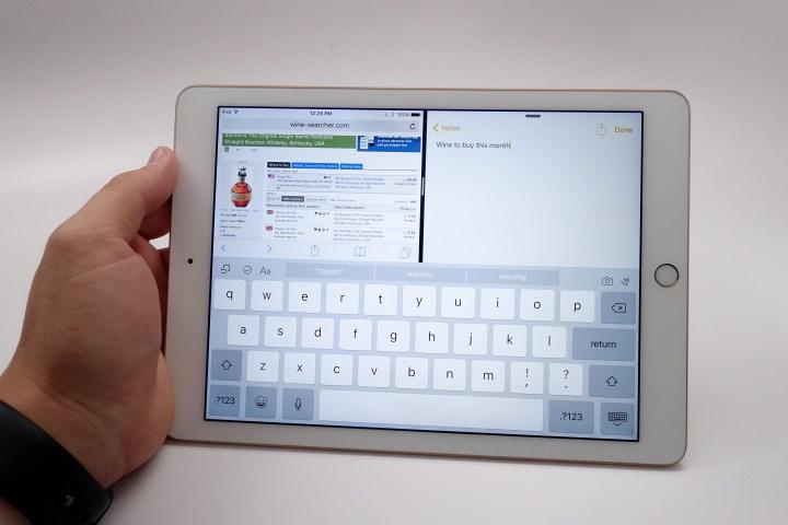 iOS 10 Safari Split View