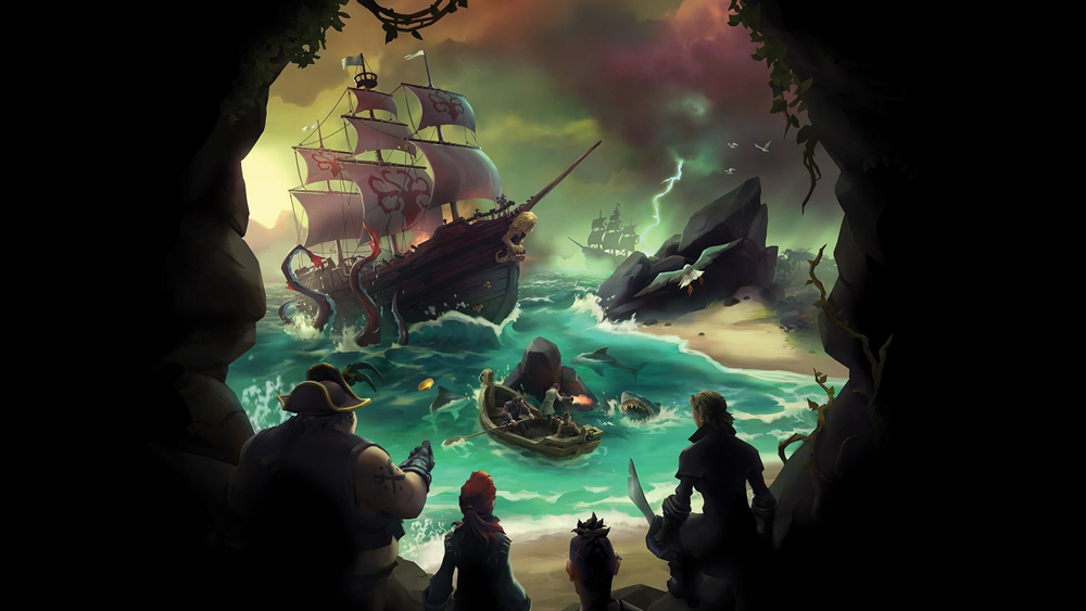 The Sea of Thieves Beta is Having Connectivity Issues, Matey