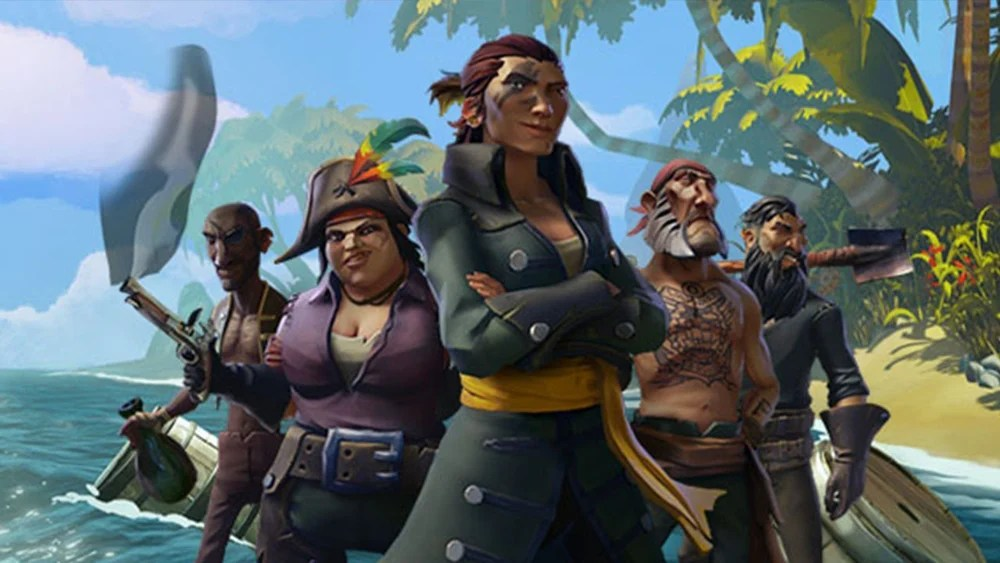Rare aware of Sea of Thieves