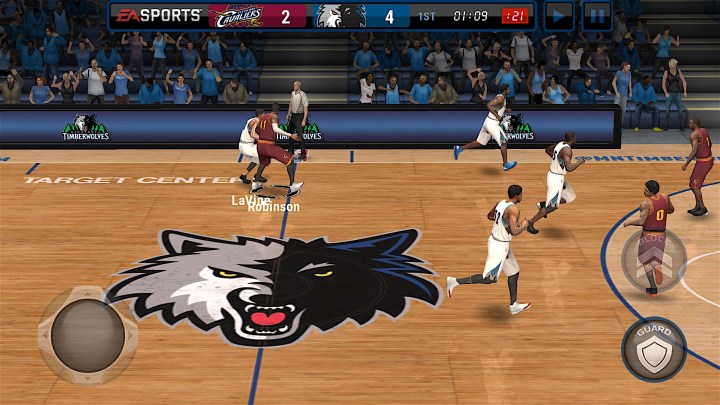 You may deal with some NBA Live Mobile problems during the launch of the game.