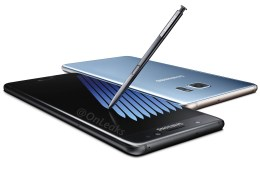 Galaxy Note 7 in all Black, and a new Coral Blue and Gold
