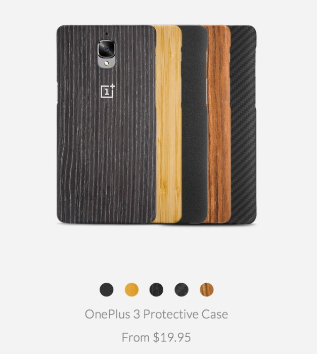 OnePlus 3 StyleSwap Cases