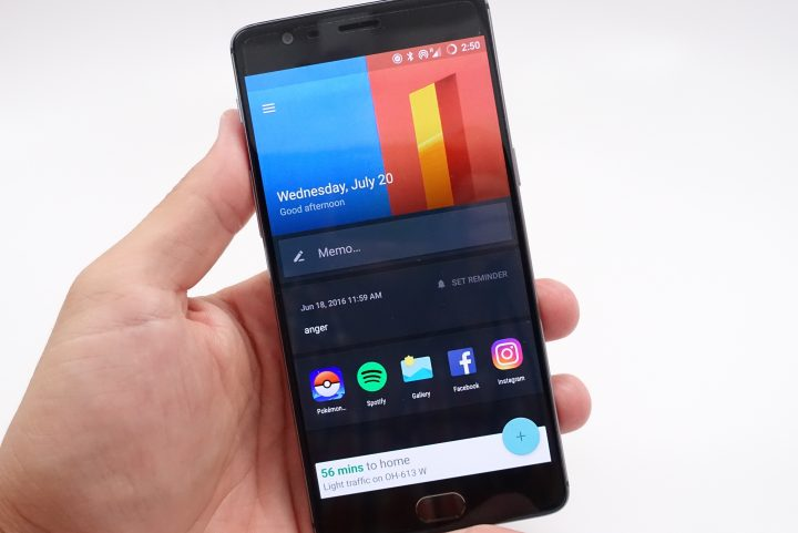 The OnePlus 3 is fast and it runs a close to stock looking version of Android with handy upgrades.