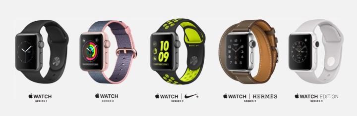 Apple Watch 2 price details.