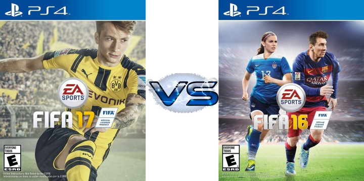 See what's new in FIFA 17 and how FIFA 17 vs FIFA 16 compare.