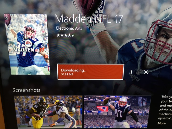 You can now download the Madden 17 trial.